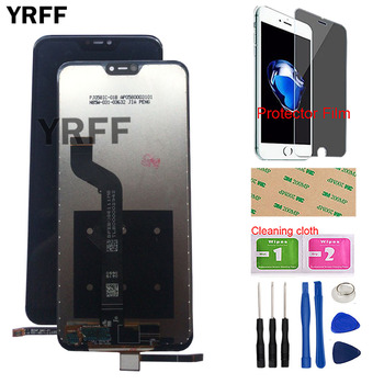LCD Display For Xiaomi Mi A2 Lite LCD Display Touch Screen For Xiaomi Redmi 6 Pro LCD Digitizer Repair Parts Tool Protector Film