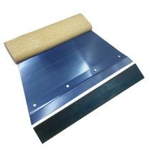 Рекомендуется ПВХ пол клеевой скребок спортивные пластиковые напольные строительные инструменты Daub клеевой скребок
