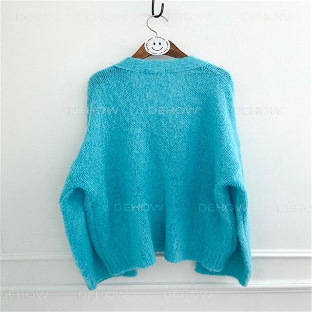 женское однотонное платье свитер в корейском стиле элегантное фотография