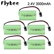 2.4V 3000mAh NI-CD rechargeable battery pack AA 2.4 v battery 3000 mah for Remote Control toys Electric Toys 1-5PCS