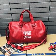 Камера сумки PU кожаный деловой поездки на короткие расстояния, камера фитнес спортивная сумка портативный путешествия открытый отдых