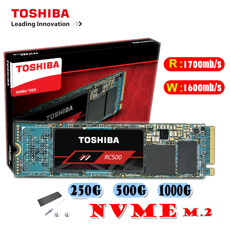 TOSHIBA Original RC500 RC100 120GB 250GB 500GB Solid State Drive M.2 SSD for Laptop NVME SSD M2 PCIE SSD Dirve Solid State Drive