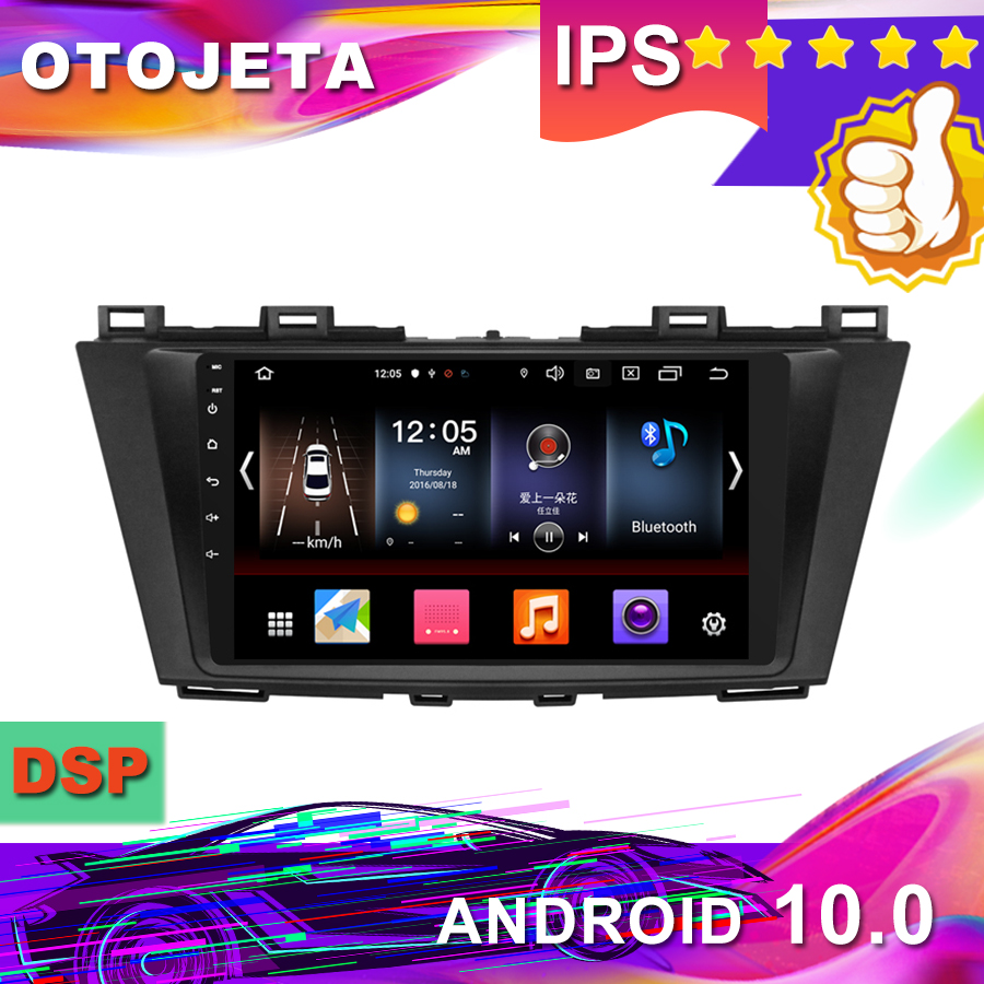 New Arrival 9inch Android 10.0 Car <font><b>GPS</b></font> for <font><b>MAZDA</b></font> <font><b>5</b></font> Premacy 2009-2012 Car Radio car Multimedia tape recorder bluetooth navigation image