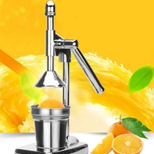 Stainless Steel HandFruit Juicer Press Juicer Squeezer Citrus Lemon Orange Pomegranate Extractor Commercial or Household juicer stainless steel juice making machine orange juice extractor juicer squeezer extractor lemon fruit juicer for commercial