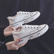 2018 spring beige white leather mesh round toe platform fashion lace up ins hot sale casual designer sneakers women flat shoes Spring/Autumn Flat Platform Women Shoes Leathers Casual Fashion Sneakers Espadrilles Lace-up Designer Shoes Women Luxury Brand