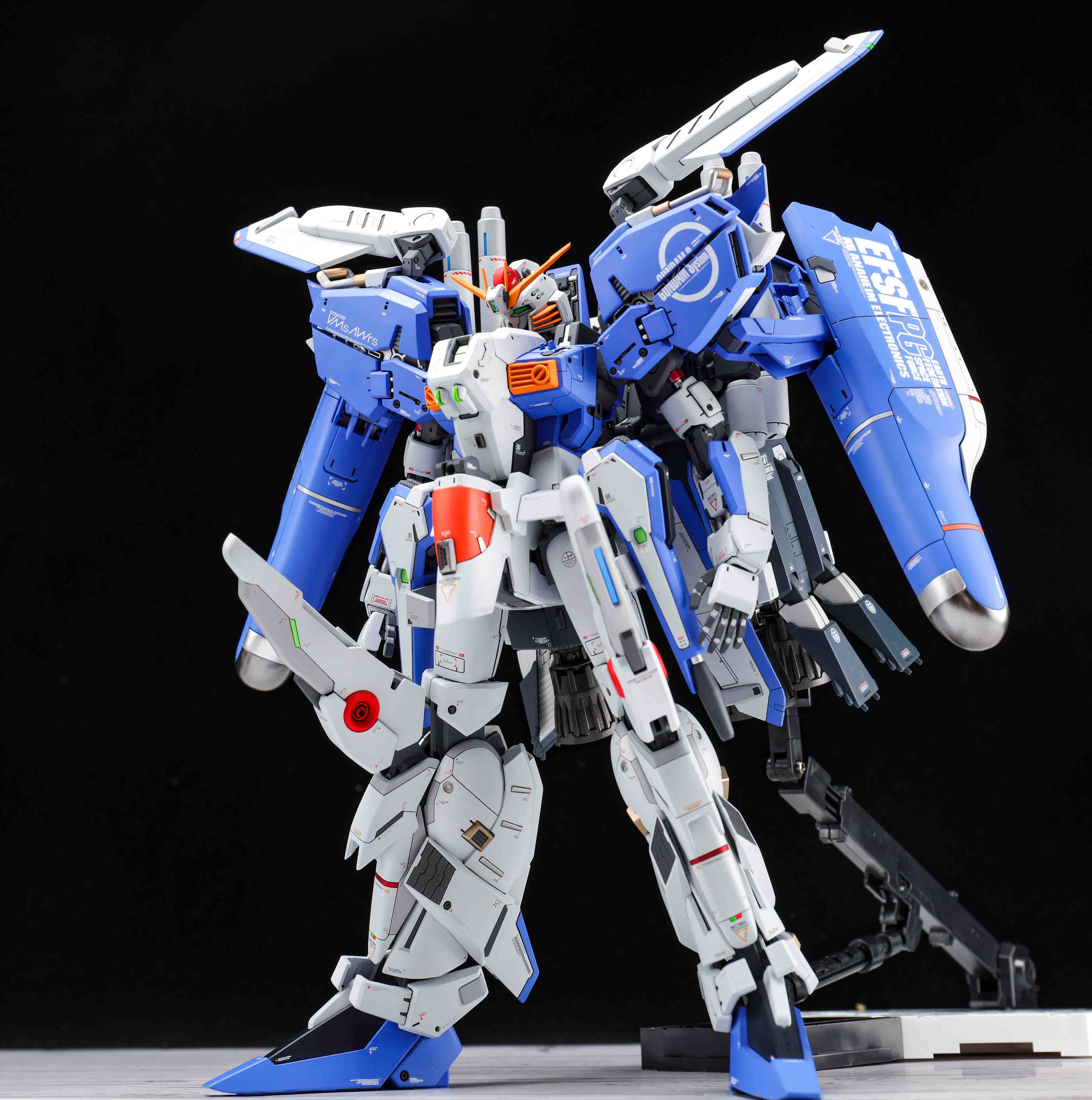 Image 2 - COMIC CLUB Pre sale Refitting Suite of GK resin for Gundam MG 1/100 EX S EXS 1.5 Ver. assembly action toy figuresAction & Toy Figures   -