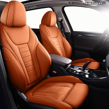 Kokololee Personalizado Couro tampa de assento do carro Para ROEWE 550 350 360 750 950 W5 E50 E950 E550 RX5 i6 ei6 RX3 ei5 RX8 i5 tampa de assento carros