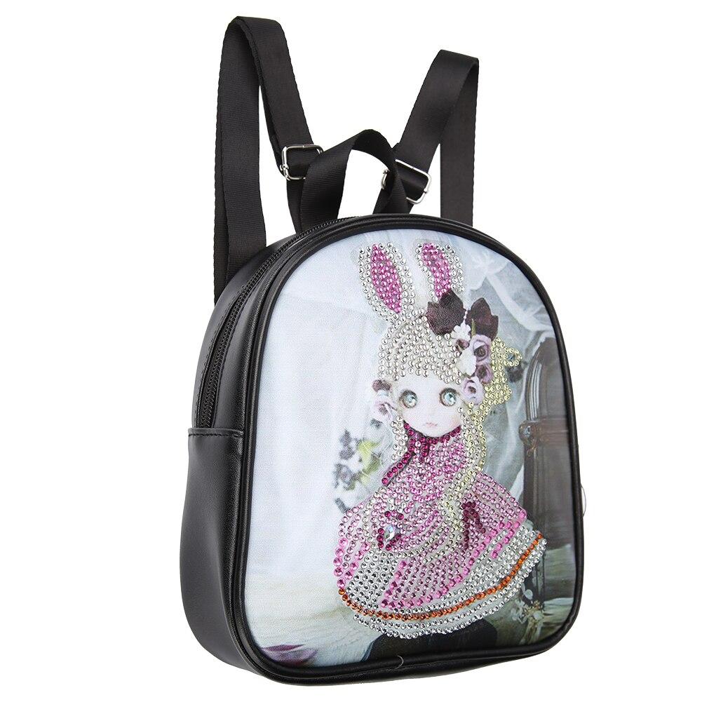 Сделай Сам, специальная форма, алмазная картина, кожаные сумки, цепь, сумка для хранения, крестиком, кошелек, студенческий рюкзак, детские шк...