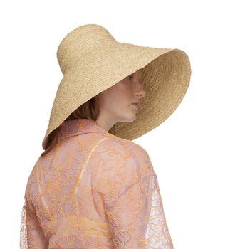 21cm Extra Large Brim Women Summer Hat Floppy Natural Raffia Straw Hat Ourdoor Sun Hat UPF 50+ Brittany Beach Hat Sun Protective
