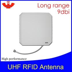 UHF هوائي rfid Vikitek VA094 عالية الأداء 915MHZ قارئ لاصقات التعريف اللاسلكيّة طويل المدى لوحة هوائي 9dBic 902-928MHZ أن تستخدم لقارئ تتفاعل
