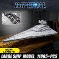 Imperiale Star Destroyer Set Compatibile con Legoed 75292 Blocchi di Costruzione di Mattoni Giocattolo per I Bambini Nuovo Star Wars Moc 23556