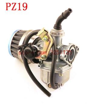 Free shipping ATV Quad Go-kart PZ19 19mm Carburetor 35mm Air Filter Cable Choke Chinese 90cc 110cc 125cc motorcycle carburetor
