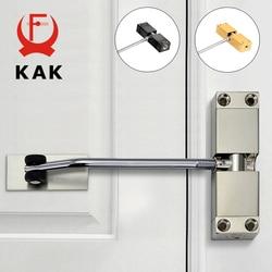 KAK Stainless Steel Automatic Spring Door Closer Door Closing Device Can Adjust The Door Closing Device Furniture Door Hardware