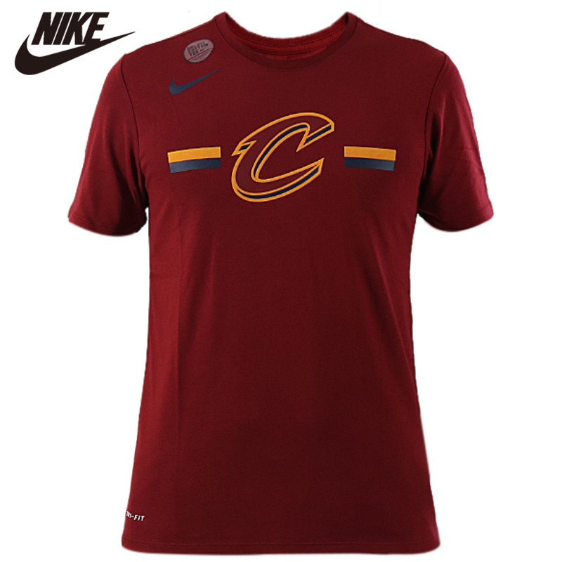 Original <font><b>NIKE</b></font> AS BOS M NK DRY TEE ES LOGO ST Men <font><b>Tshirt</b></font> Wine Light Weight Clothing image