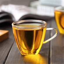 Стеклянные чайные сервизы и кофейные молочные чашки утолщенные большие чашки чайные чашки на вкус чашки для чая прозрачные Термостойкие чашки 150 мл