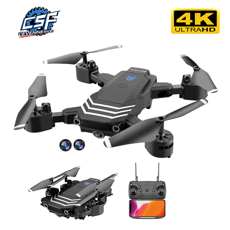 2020 NEUE S11 RC Drone 4K Dual Kamera mit 50 Mal Zoom WiFi FPV 1080P Optischen Fluss Faltbare selfie Eders Quadcopter Drone Geschenk