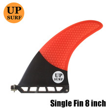 8 inch firberglass carbon single fin paddle board surfboard sup fin stand up paddle longboard fin sup board upsurf free shipping 100% carbon fibre sup surf paddle carbon paddle stand up surfboard paddle