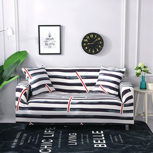 Image 5 - גבוהה אלסטי ספה מכסה לסלון גיאומטרי סדרת למתוח ספת כיסויים L צורת פינת ספה כורסא ספה כיסוי