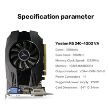 Yeston Radeon R5 PC Video Graphics Cards