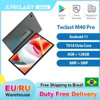 Teclast M40 Pro 10.1 Inch Tablet Android 11 T618 Octa Core 6GB RAM 128GB ROM 4G Network Dual SIM 8MP Rear 5MP Front 7000mAh 1