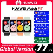 В наличии глобальная версия HUAWEI часы подходят SmartWatch быстрой тренировки анимации уровень кислорода в крови часы подходят 10 дней Время работ...