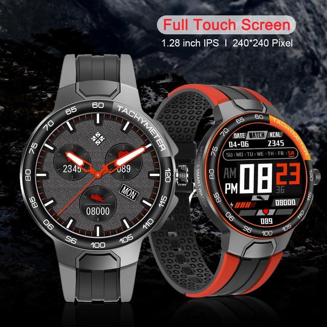 MELANDA New Luxury Smart Watch Men Sport Fitness Tracker IP68 Waterproof Heart Rate 2021 Full Touch Smartwatch for IOS Android 2