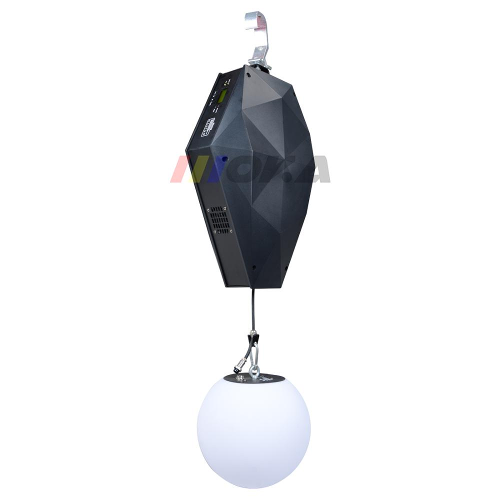 3D Up Down Lifting System DMX RGB LED Lifting Ball Wave Effect Colorful Kinetic Light Lift Ball For Stage DJ Disco