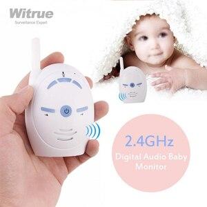 Image 1 - جهاز مراقبة الطفل 2.4 جيجا هيرتز لاسلكي صوت الرضع طقم لاسلكي تخاطب هاتف الطفل الاطفال راديو مربية جليسة الطفل