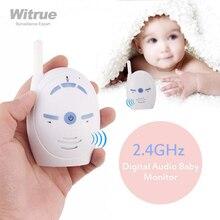 Bebek izleme monitörü 2.4GHz kablosuz bebek ses Walkie Talkie setleri bebek telefonu çocuklar radyo dadı bebek bakıcısı babyfoon
