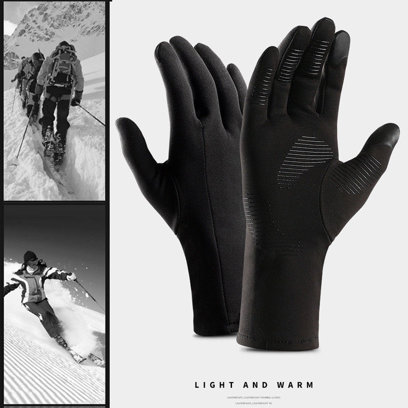 Men Women Winter Insulated Glove 2019 Newest Fashion  Warm Outdoor Thermal Touch Screen Riding Mitten Hot Sale Gloves