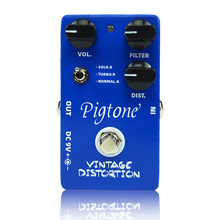 Pigtone PP-06 Vintage Distortion Guitar effect pedal acoustic electric guitar accessories effects pedals Real bypas стоимость