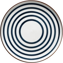 Japanese-style hand-painted ceramic steak Western food plate, personality retro 8-inch disc, home art tableware plate(China)