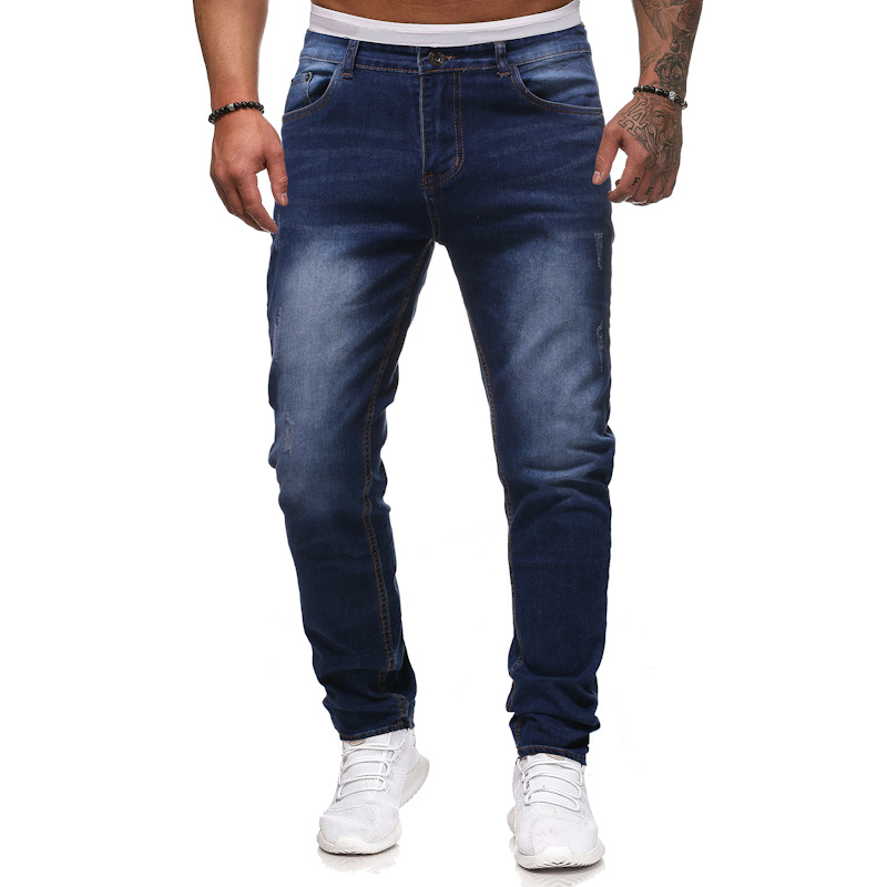 AliExpress Eaby Men Jean Fabric Casual Athletic Pants Trousers Jeans K70