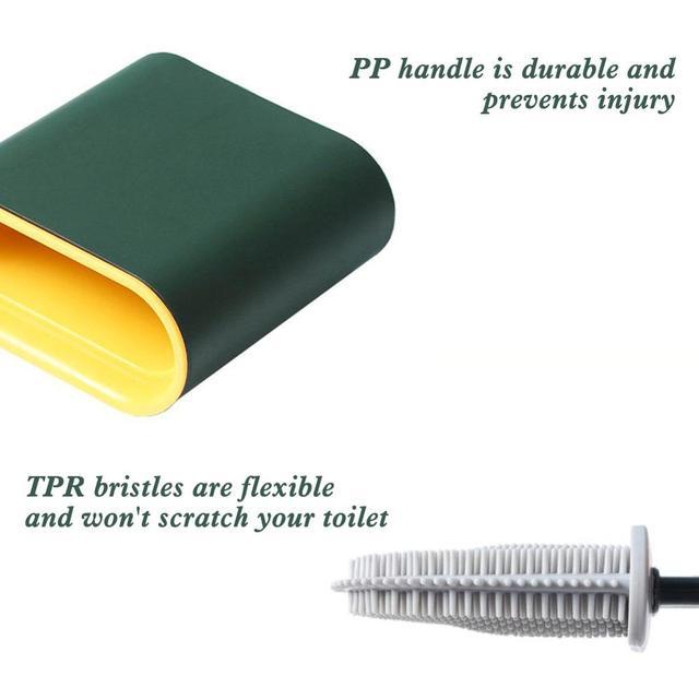 силиконовая щетка для унитаза с основанием резиновый держатель фотография