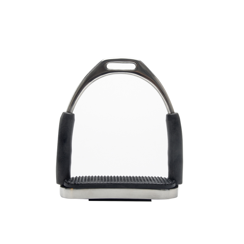 1 Pair Harness Supplies Anti Slip Racing Folding Horse Riding Outdoor Stainless Steel Stirrups Equipment Saddle Pedals Durable