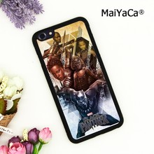 MaiYaCa BLACK PANTHER Movie Phone Case Cover For iPhone 5 6s 7 8 plus 11 pro X XR XS max Samsung S6 S7 S8 S9 S10(China)