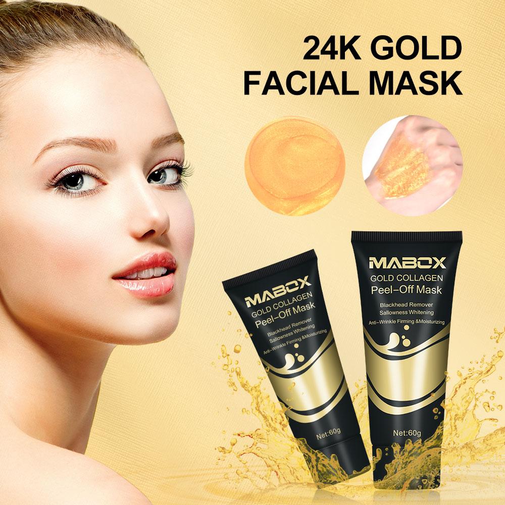 24 K Gold Collagen Peel-Off Mask