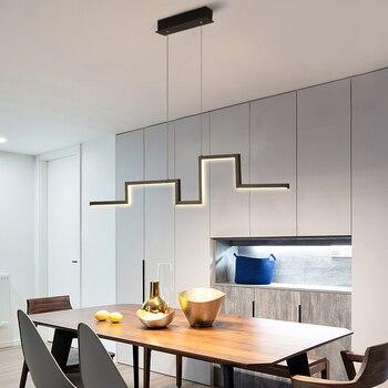 LICAN nowoczesny wisiorek led światła jadalnia kuchnia AC 85-265V wisząca oprawa oświetleniowa oprawa colgante home wisiorek led lampa
