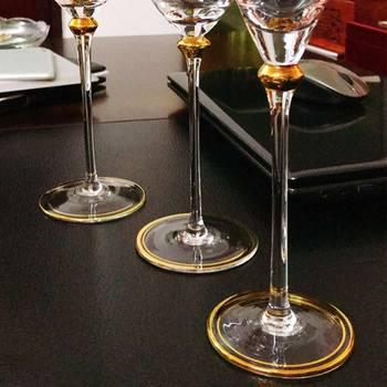 2Pcs Retro  Wine Glass  4