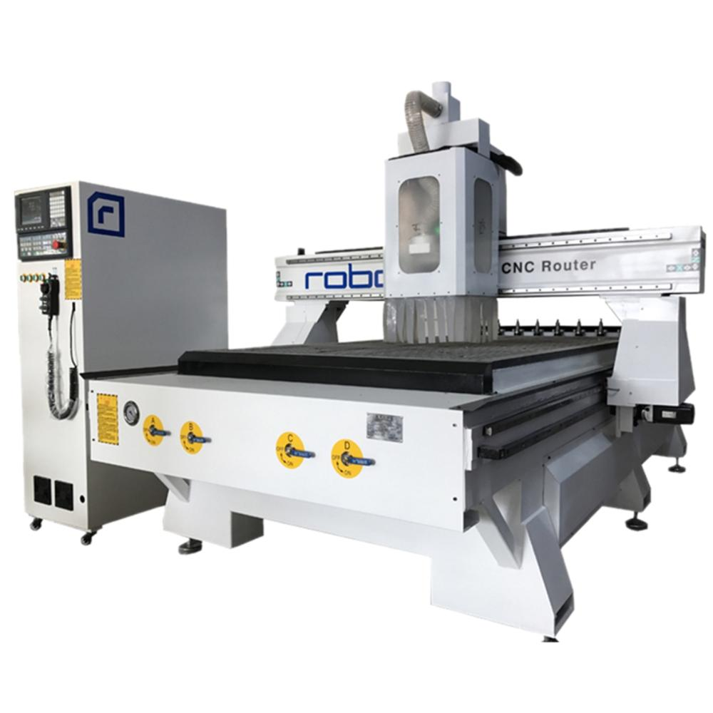 China 1325 Wood Cnc Router With Auto Tool Changer Cnc Wood Furniture Cutting And Engraving Cnc Machine With High Speed