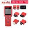 Strumento diagnostico Originale XTOOL X100 Pro Programmatore Chiave Auto Con EEPROM SIM Card e Adattatori supporto Contachilometri Chilometraggio regolazione Aggiornamento Gratuito
