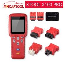 XTOOL X100 Pro programmateur de clé automatique avec adaptateurs EEPROM support odomètre X100 Pro programmateur de clé automatique, ajustement de kilométrage, mise à jour gratuite
