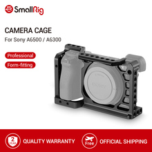 SmallRig Aluminum Alloy Camera Cage For Sony A6500/A6300 Upgraded Version Protective Dslr Camera Rig For Sony A6500  1889