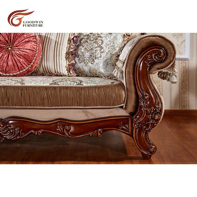 European Antique Living Room Sofa Furniture  4