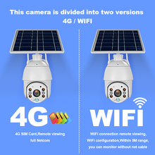 4G SIM Card Solar IP Camera 1080P HD Outdoor Wi-fi Security Surveillance Waterproof Outdoor Camera IR Night Vision 360 mini ip camera 3g 4g sim card wireless wi fi ptz 1080p ir dome 5x zoom cctv security surveillance outdoor waterproof camera