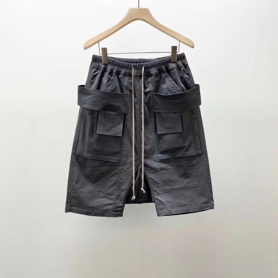 Owen Seak, мужские повседневные короткие шаровары, готический стиль, мужская одежда, спортивные штаны, летние, уличные, женские, свободные, черны