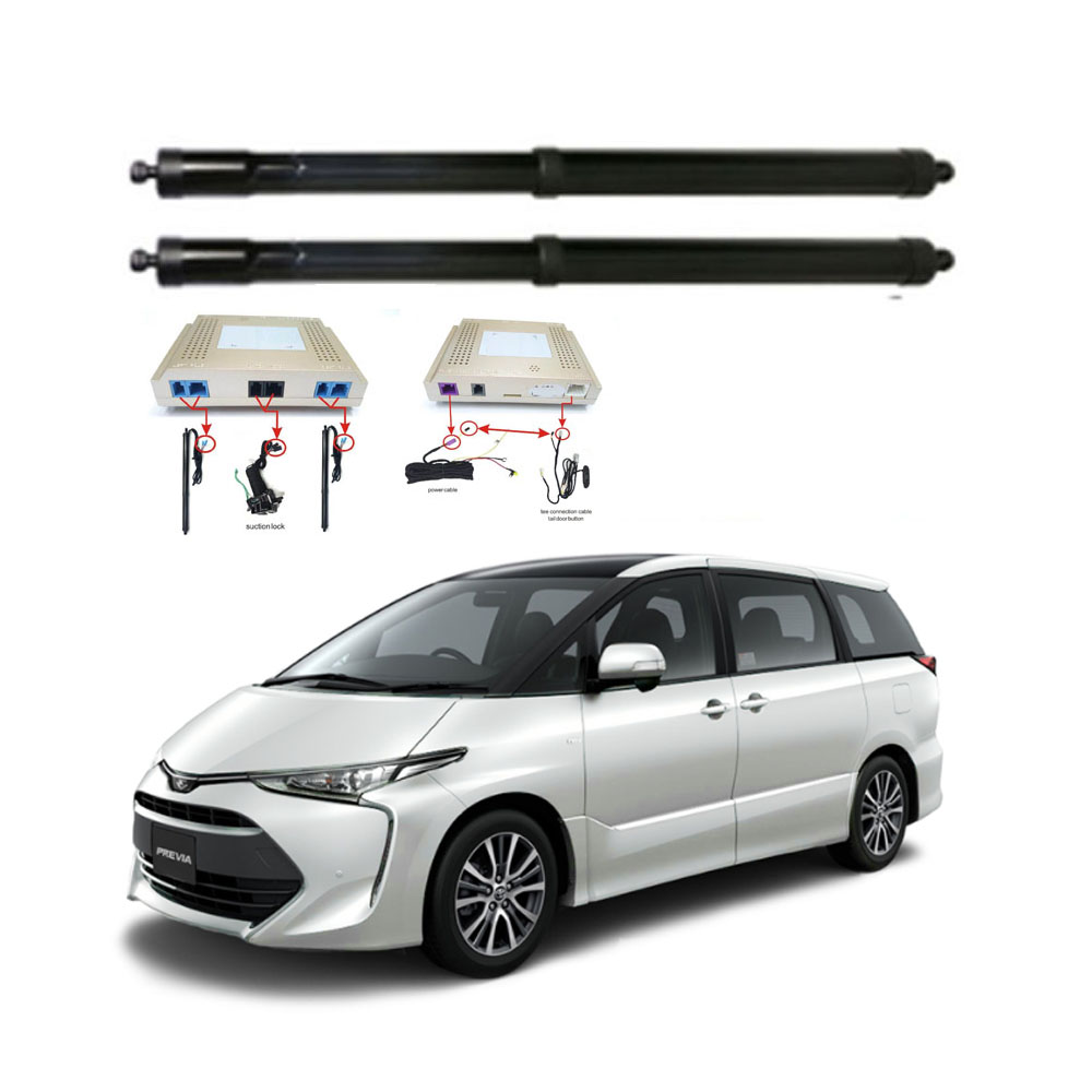 New Electric Tailgate Refitted For Toyota PREVIA ESTIMA 2007 - Tail Box Intelligent Electric Tail Door Power Tailgate Lift Lock