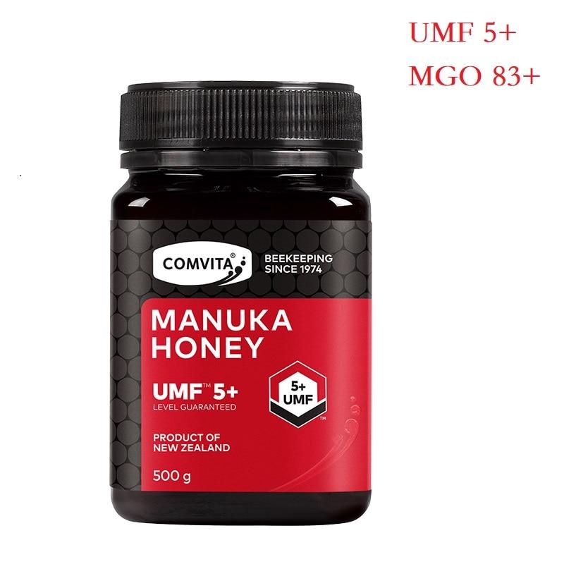 AUTHENTIC New Zealand Comvita Manuka Honey UMF5+ MGO83+ 500g for Digestive Immune Health Respiratory System Cough Sore Throat