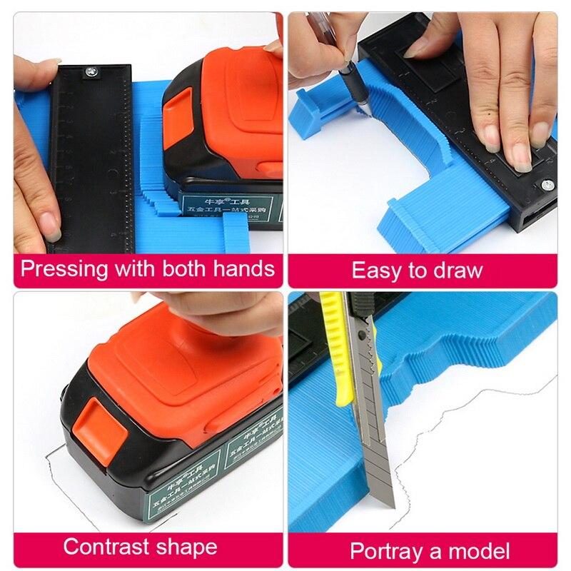 borda forma copiar ferramentas medição