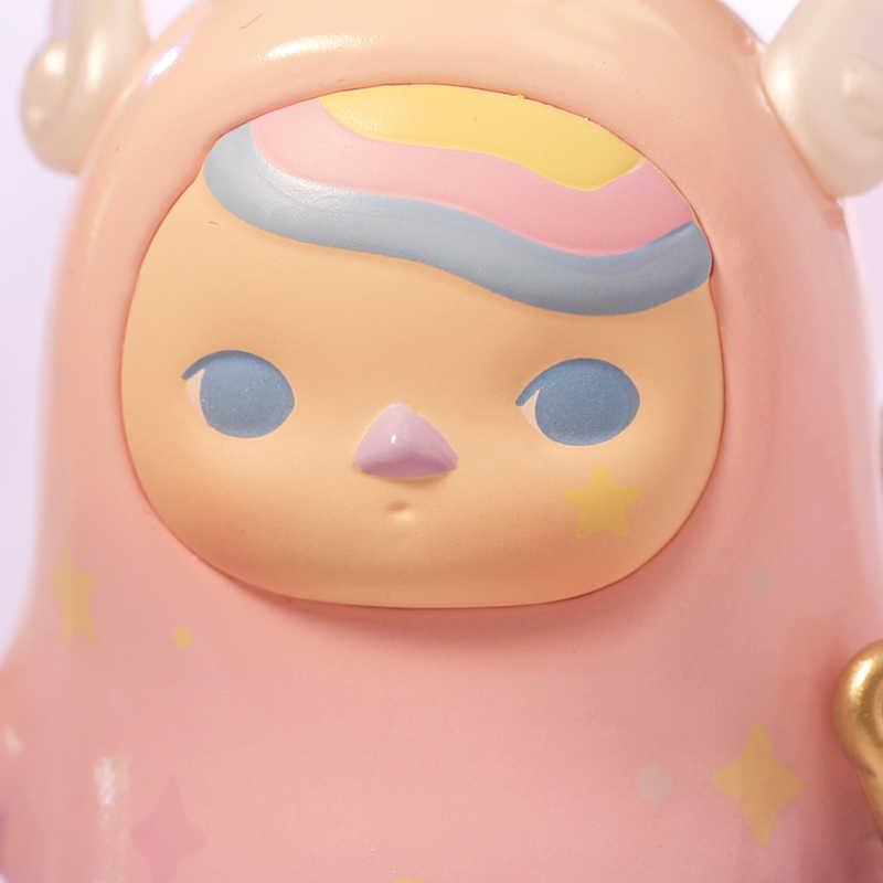 פופ מארט Pucky הורוסקופ תינוקות אוסף בובת אסיפה פעולה חמודה Kawaii בעלי החיים צעצוע דמויות משלוח חינם